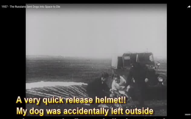 Russian Space Dog Hoax - 1950's Fake Russian Rockets